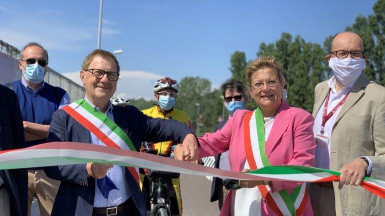 Inaugurata la pista ciclabile tra Jesolo e Cavallino-Treporti