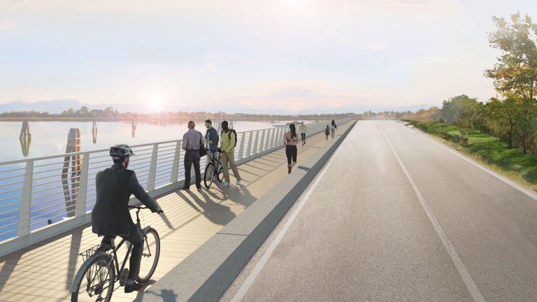 Presentazione del progetto della pista ciclabile di Via Pordelio